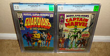 MARVEL SUPER HEROES 12 & 18_1ST APPEARANCE OF GUARDIANS OF THE GALAXY & MARVEL