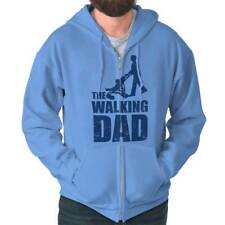 The Walking Dad T Shirt Cool Funny Dads Fathers Day Gift Ideas Zipper Hoodie