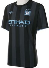UMBRO MANCHESTER CITY EUROPEAN JERSEY 2012/13 UEFA CHAMPIONS LEAGUE JERSEY.
