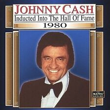 Hall Of Fame, 1980 -- Johnny Cash -- Brand New Country Music CD