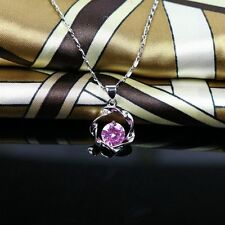 Jewelry Silver Choker Exquisite Chain Pendant&Necklace Sweet Lady Necklace