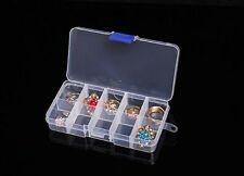 Hot Empty Storage Container Box Case for Nail Art Tips Rhinestone Gems