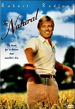 USED DVD // THE NATURAL - Robert Redford, Robert Duvall, Glenn Close, Kim Basing