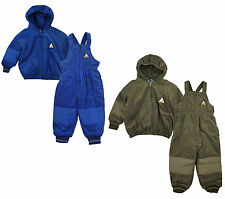 Boys Baby 2 PIECE Corduroy Salopette Dungarees & Jacket Set 6 to 24 Months