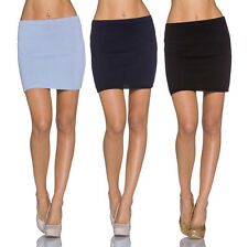 Sexy Ladies Fine Knit Skirt Knitted Mini Pencil warm Party S 34 36