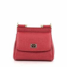 Dolce & Gabbana Miss Sicily Handbag Leather Micro