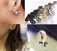 Woman Gothic Punk Rock Temptation Dinosaur Dragon Ear Cuff Wrap Clip Earring