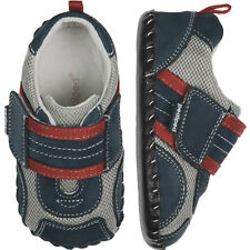 Pediped Originals ADRIAN NAVY Baby Boys Full Leather Soft Sole Shoes 6 - 12mths