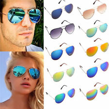 Unisex Vintage Retro Women Men Glasses Fashion Mirror Lens Sunglasses V3