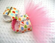 Small Dog clothing Dolly dress Chihuahua tutu Yorkie outfit dress Size - XS