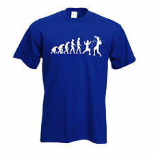 Fencing t shirt | Evolution of Sword fighting T-Shirt FREE UK P&P Evolve of man