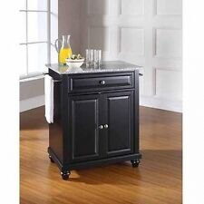 Crosley Furniture Cambridge Solid Granite Top Portable Kitchen Island. Free Ship