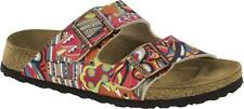 PAPILLIO BIRKENSTOCK ARIZONA AFRICAN WAX RASPBERRY WOMEN'S FLIP-FLOPS SANDALS