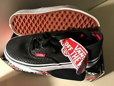 VANS Boys or Girls Sneakers Youth Size 12 Black Authentic NEW