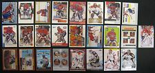 Jose Theodore Lot of 27 NHL Hockey Cards Montreal Canadiens Capitals Avalanche