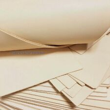 Blank Genuine Leather Cow Hide Veg Tan Natural Fabric for DIY Wallet Bag Craft