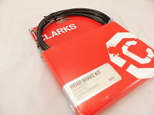 Galvanised Clarks Bike Brake or Gear Cable Set Mtb Road Shimano or Campag Fit