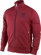 NIKE FC BARCELONA AUTHENTIC N98 TRACK JACKET Storm Red/Mid Navy.