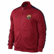 NIKE FC BARCELONA AUTHENTIC N98 TRACK JACKET Red/Navy.