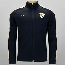 NIKE PUMAS UNAM AUTHENTIC N98 TRACK JACKET Obsidian/Gold.