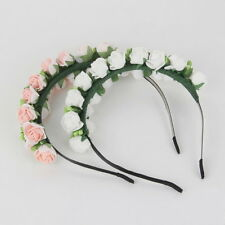 Flower Garland Floral Bridal Headband Hairband Wedding Prom Hair Accessories O7