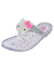 "Hello Kitty Girls' ""Jellie"" Sandals (Youth Sizes 13 - 3)"