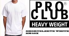 Pro Club 3 Pack HeavyWeight Short Sleeve White T-shirts Tee S-10x