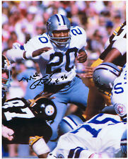 MEL RENFRO SIGNED AUTOGRAPHED 8x10  Dallas Cowboys - Oregon Ducks - Hall of Fame