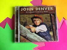 Greatest Country Hits by John Denver (CD, Mar-1998, RCA)