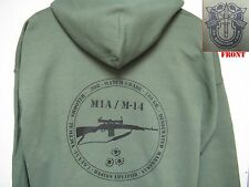 SPECIAL FORCES HOODED SWEATSHIRT/ M14/ M1A/ MILITARY/ DSMR/     NEW