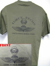 USMC FORCE RECON T-SHIRT/ OLD SCHOOL.