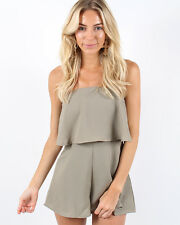 NEW Womens Fashion Le frill playsuit