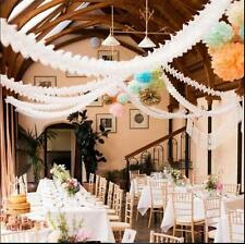 Hanging Paper Garlands Flora Chain Wedding Party Ceiling Banner DecorationSWUK