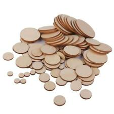 Blank Plain Round Shaped Natural Wood Slices Discs for DIY Art Craft Hobbies