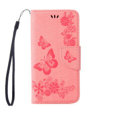 For Apple iPhone Flip PU Leather Wallet Pouch Card Holder Case TPU Stand Cover
