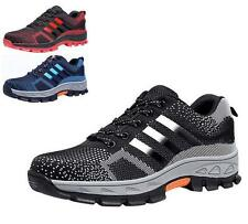 Mens Hiking Climbing jogging running sneaker casual Safety Breathable shoes size