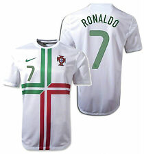 NIKE CRISTIANO RONALDO PORTUGAL AWAY PLAYER ISSUE JERSEY UEFA EURO 2012.