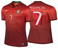 NIKE CRISTIANO RONALDO PORTUGAL AUTHENTIC HOME JERSEY FIFA WORLD CUP BRAZIL 2014