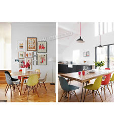 Eames inspired Eiffel Retro DSW Plastic Dining Office Lounge Chair Panton
