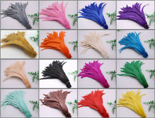 Wholesale! 10-1000 pcs rooster tail feathers 12-14 inches/30-35cm 15 colors