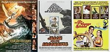 Ray Harryhausen - A4 Laminated Mini Movie Posters