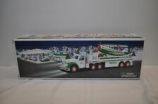 2002 Hess Toy Truck And Airplane  Brand New In Box + batteries