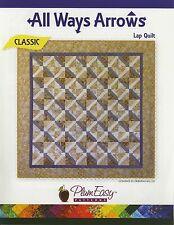 All Ways Arrows Lap Quilt Pattern by Plum Easy Patterns (PEP-108)