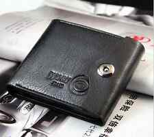 Men's Faux Leather Bifold Wallet ID Credit Card Holder Clutch Coin Purse Pockets