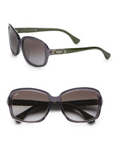 TODS Two-Tone Acetate Rectangular Sunglasses - TO0027