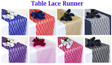 "20 PCS 30cm x 275cm Lace Table Runner For Wedding 12""x108"" Table Runners Decor"