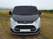 Ford Transit Custom Front Window Screen Cover Black Out Blind Frost Wrap Curtain