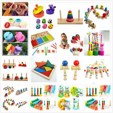 Baby Educational Kids Children Intellectual  Developmental Wooden Toy Love Gift
