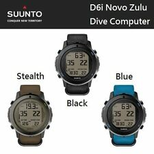Suunto D6i Novo Zulu Dive Computer with USB Cable Dive Watch