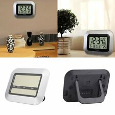NEW Digital LCD Home Office Decor Wall Alarm Clock Thermometer temperature JOW